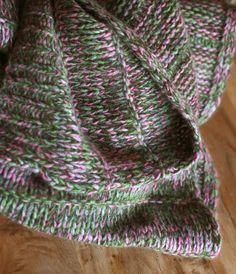 Kaschmir Schal Multicolor Green Rose Grey