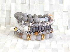 Erimish Boho Stack Bracelet set has 5 pieces