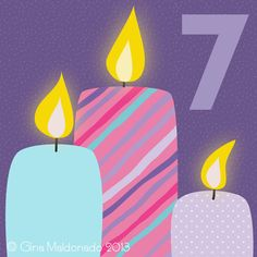 Today we celebrate the día de las velitas (day of the candles) in Colombia. At night time everybody will be lighting up candles and pa...