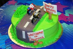 An amazing birthday cake made by a friend (who does this for a living) for Ryan's 3rd birthday!!