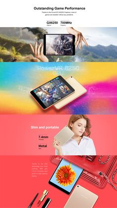 Original Box Teclast M89 MT8176 Hexa Core 2.1 GHz 3G RAM 32G ROM 7.9 Inch Android 7.0 OS Tablet Office And School Supplies, Laptop Accessories, Computers, Core, Android, The Originals