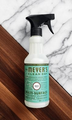 When your little ones leave floor and counter messes behind after make-your-own sundaes, a good, damp cloth and our Basil Multi-Surface Everyday Cleaner will do the trick to clean them right up.