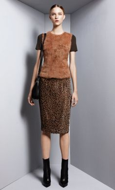 Transforming Fall – Australian label Scanlan and Theodore dabbles in a mix of day and evening wear for its fall 2012 collection