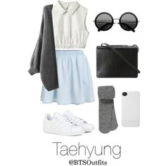 Spring Outfit Inspired by Taehyung