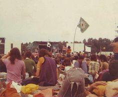 Rare pic. from Weeley Festival 1971