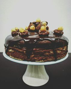 Hazelnut Truffle Cake