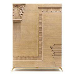 Art Deco Furniture, Unique Furniture, Bathroom Furniture, Furniture Design, Cladding Design, Luxury Dining Room, Wardrobe Design, Curtain Designs, Life Design