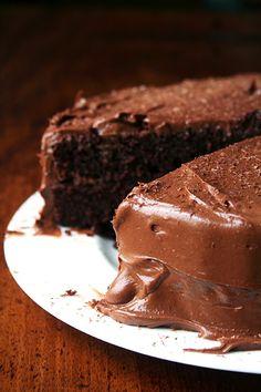 Me Encanta el Chocolate: SENCILLO PASTEL DE CHOCOLATE (RECETA BÁSICA)