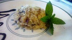 Risotto con achicoria roja – Risotto con radicchio - Risotto with chicory italian food, italian recipes, cocina italiana, comida italiana