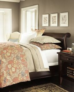 Best Ideas For Dark Wood Bedroom Furniture Pink Dark Wood Bedroom Furniture, Discount Bedroom Furniture, Beautiful Houses Interior, Beautiful Bedrooms, Girls Bedroom, Trendy Bedroom, Bedroom Simple, Simple Bed, Blue Bedroom