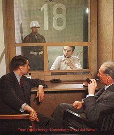 Albert Speer at Nuremberg.