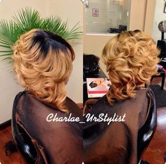 http://www.shorthaircutsforblackwomen.com/black-tea-rinse-for-hair/ ombre hair, curly inverted bob, cute black hairstyles for women with long curly hair. My birthday hair maybe