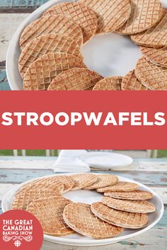 Stroopwafel dough is cooked in a specialty iron until it's a beautiful golden amber colour, then smooth and glossy caramel is sandwiched between two cookie layers. Star Baker, Filled Cookies, Baker Recipes, Sugar Crystals, Dough Balls, Instant Yeast, Cookies Ingredients, Corn Syrup, Cookie Dough