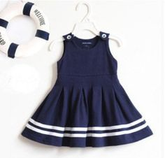 vestido infantil gola marinheiro - Pesquisa Google