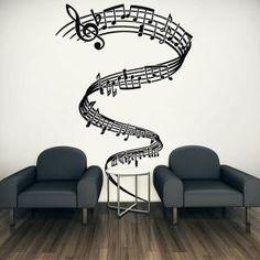 Vinilos Decorativos Tornado Musical