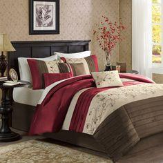 Home Essence Monroe 7-Piece Bedding Comforter Set