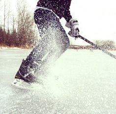 snow shower #hockey