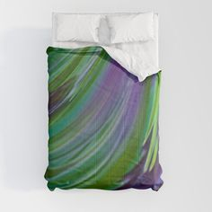 Our lightweight, warm Comforters induce sweet, sweet sleep - and take your bedding to the next level. Designs are printed onto the super-soft material for brilliant images and a dreamy, premium feel. - Available in King, Queen, Full, Twin and Twin XL sizes - Crafted with 100% premium microfiber polyester - Lined with fluffy, lightweight polyfill - Machine washable with cold water on gentle Modern Art, Contemporary, Lilac, Purple, Foot Of Bed, Soft Duvet Covers, Twin Xl, Duvet Insert, Home Accessories