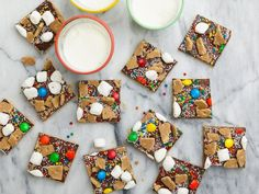 Ree named this colorful confection after the baking method (Spreads), which calls for spreading melted chocolate chips over a buttery cookie crust with a spatula to form a sweet chocolate layer.