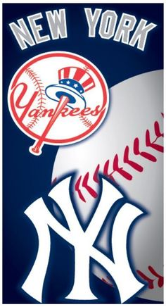 New York Yankees Baseball Pool Bath Beach Souvenir Towel Licensed 28x58 NEW LIC #IslandGear