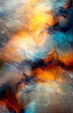 Nebula by Mahaon........ What beauty has love bestowed upon us...