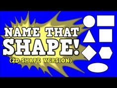 18 Kindergarten Videos to Teach 2D Shapes
