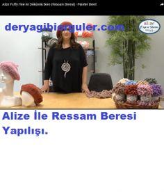 Tek Yumakla Ombre Kazak Yapılışı | Deryagibiörgüler Beret, Berets