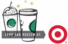 Target Starbucks Cafés $$ Now Able to Redeem Rewards + Earn Double Stars with Every Purchase Thru 10/19!