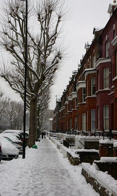 London Snow Day, Maida Vale, England (by drewpost on Flickr)