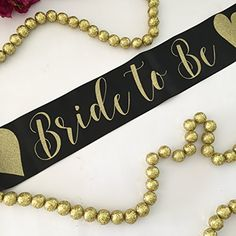 Black and Gold Bride to Be Bachelorette Party Sash with H... https://www.amazon.com/dp/B01N1UPHO0/ref=cm_sw_r_pi_dp_x_6OSwyb20JFBZH