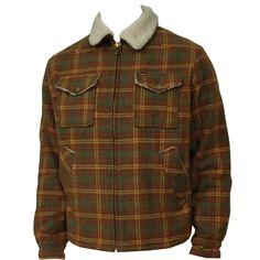 #Brixton Mens Jacket Custer Copper