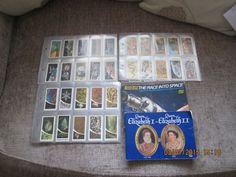 Brooke Bond tea card albums