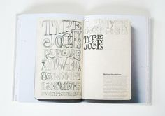 Typographicc Sketchbooks#Repin By:Pinterest++ for iPad#
