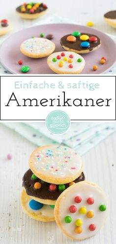 einfache-saftige-amerikaner-wie-vom-backer-backen-macht-glucklich/ delivers online tools that help you to stay in control of your personal information and protect your online privacy. Baking Recipes, Cookie Recipes, Dessert Recipes, Food Cakes, American Food, Sweet Recipes, Bakery, Food And Drink, Easy Meals