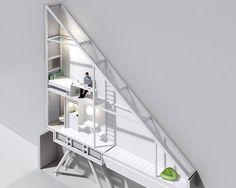 Jakub Szczesny's Keret House is the World's Narrowest Building