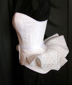 Victorian Bustle Pillow Skirt Support Bum Roll - Ready to ship.via Etsy.