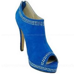 ……❤❤❤…… Jimmy Choo Suede Blue Pumps ,→❤♥…… FOR MY HOLIDAY... ❤❤♥