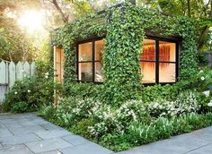As a guesthouse, garden shed or sauna, a shipping container can serve as a beautiful extension of your home sweet home.
