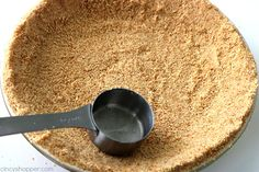 Homemade Nilla Wafer Pie Crust - CincyShopper Pie Crust Recipes, Pie Fillings, Pie Crusts, Vanilla Wafer Crust, Pie Dish, Food To Make, Food Processor Recipes, Cheesecake, Vegetarian