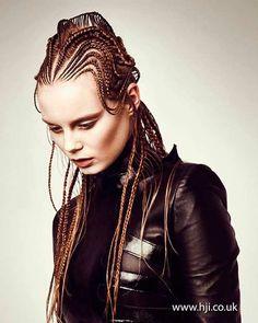 Avant garde Fashion Braids #braids #braidstyles #braidstylist #stylist #hairstylist #hairstyle #hairstylist #braids #fashion #colouredbraids #colouredhair #hairinspo #mermaidhair #unicorn #color #haircolor #love2Braid #vlechten #vlechtkapsels #bruidskapsels