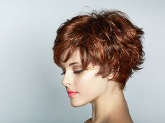 beautiful shag woman 26 Dashing Short Shag Haircuts