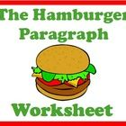 """This worksheet is used to support instruction on proper paragraph writing using the """"Hamburger Paragraph Method""""      In the top bun students introdu..."""