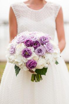 Colorful North Carolina Beach Wedding – Style Me Pretty Purple Wedding, Floral Wedding, Wedding Bouquets, Wedding Flowers, Perfect Wedding, Dream Wedding, Wedding Day, Wedding Pins, Wedding Blog
