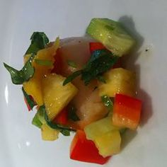 Seared Scallops with Tropical Salsa Allrecipes.com