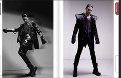 Cyber Punk in Mami Magazine