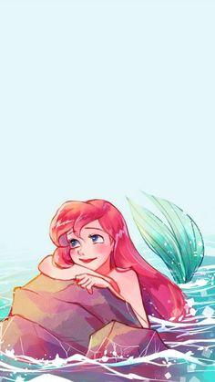 Ariel Wallpaper, Little Mermaid Wallpaper, Mermaid Wallpapers, Disney Phone Wallpaper, The Little Mermaid, Wallpaper Ideas, Wallpaper Quotes, Book Wallpaper, Wallpaper Wallpapers