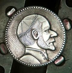 The Engraver's Cafe - The World's Largest Hand Engraving Community - Hobo nickel Hobo Nickel, Hand Engraving, Cool Artwork, Art Forms, Sculpture Art, Coins, Miniatures, Carving, Rabbi