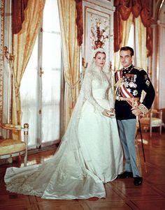Grace Kelly Celebrity Wedding Dresses