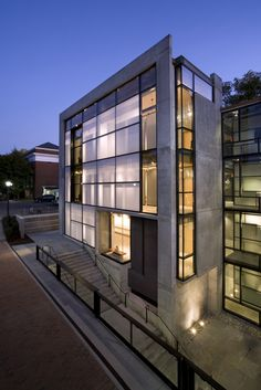 School of Architecture Addition (2008), University of Virginia - by WG Clark