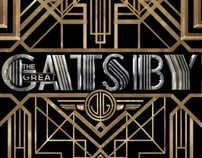 THE GREAT GATSBY by Like Minded Studio, via Behance - such a beautiful, cohesive, well-rounded brand identity. Would love to work at a firm like this.
